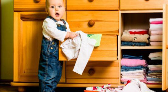 kledingkasten babykamer