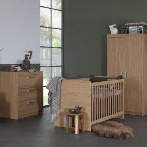 Babykamer Nova Stone Oak